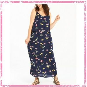 Capsule By Simply Be Layered Floral Maxi Dress